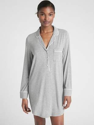 Gap Sleep Shirtdress in Modal