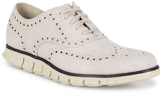 Cole Haan Zero Grand Perfect Wingtip Suede Sneaker