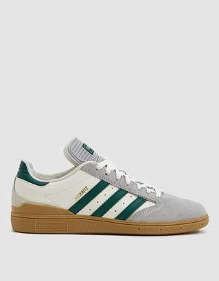 adidas Busenitz Sneaker in Grey Two/Collegiate Green
