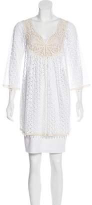 Calypso Lace Embellished Tunic
