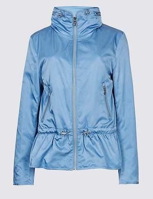 Marks and Spencer Drawstring Waist Anorak Jacket with StormwearTM