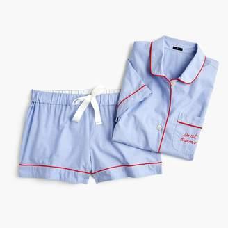 """J.Crew Pajama set in """"sweet dreams"""""""