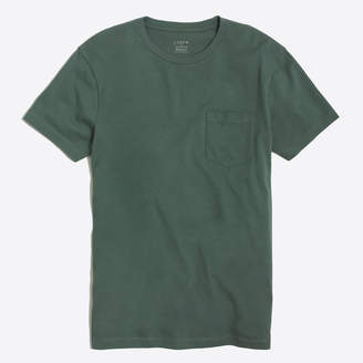 J.Crew Factory J.Crew Mercantile slim Broken-in pocket T-shirt