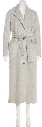 Won Hundred Textured Long Coat