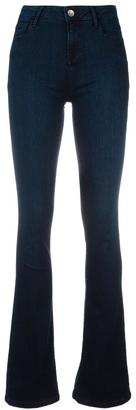 Twin-Set stretch flared jeans $160.10 thestylecure.com