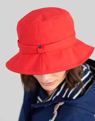 Joules RED Coast Showerproof Rain Hat Size One Size f18d60de1b6e