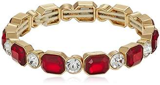 Anne Klein gold-tone siam stretch bracelet