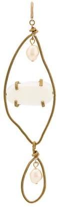 Marni oversized hanging earring