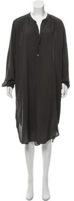 Raquel Allegra Henley Shirt Dress w/ Tags