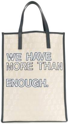 Corto Moltedo We Have More Than Enough shopper