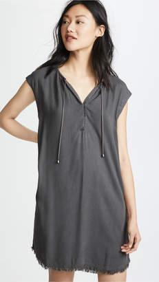 Splendid Indigo Crosshatch Dress