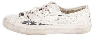 Maison Margiela Converse x Distressed Low-Top Sneakers