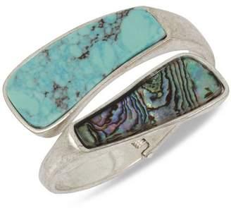 Robert Lee Morris Soho Turquoise Bypass Bracelet