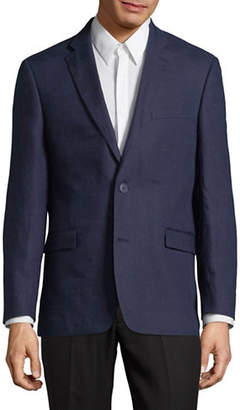 Tommy Hilfiger Classic Long-Sleeve Linen Blazer