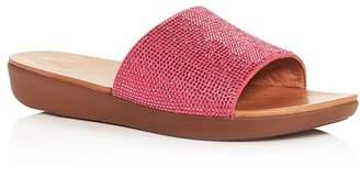 c0053ea8d22 FitFlop Women s Sola Crystal Platform Slide Sandals