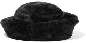 CLYDE Faux Fur Hat - Black