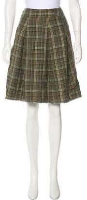 Gunex Wool Knee-Length Skirt