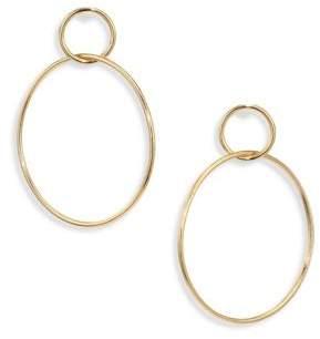 """Jules Smith Designs Circle Hoop Earrings/1.75"""""""