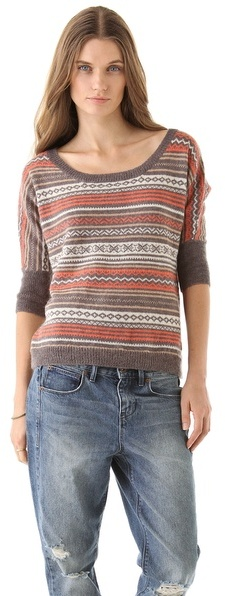 Splendid Fair Isle Sweater