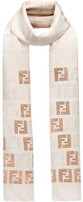 Fendi FF motif stole scarf