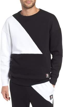 Reebok Colorblock Crewneck Pullover