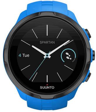 Suunto Spartan Sport Blue Wrist Hr, Blue Silicone Band with a Digital Dial