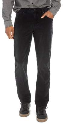 Hudson Blake Slim Fit Straight Leg Corduroy Pants