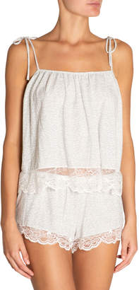 Eberjey Abstract Animal Coquettish Pajama Camisole Top