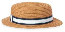 Janie and Jack Baby's, Toddler's, Little Boy's& Boy's Straw Boater Hat