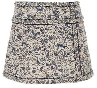 Etoile Isabel Marant Isabel Marant, Étoile Hanon floral-printed miniskirt
