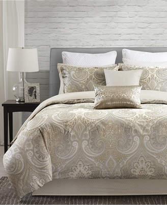 Echo CLOSEOUT! Juneau Reversible Cotton Bedding Collection, 250 Thread Count 100% Cotton