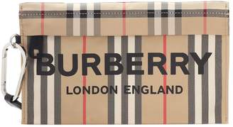 Burberry Archive Check clutch