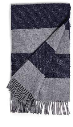 Co Begg & Boucle Furrow Striped Blanket Scarf