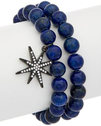 Rachel Reinhardt Plated Star Stretch Bracelet