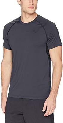 Peak Velocity Men's Standard Elite-Stretch Short Sleeve Quick-dry Athletic-Fit T-shirt