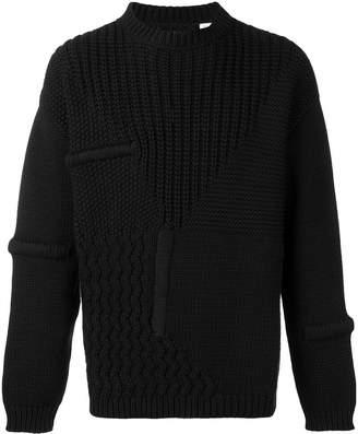 Oamc braided knit detail jumper