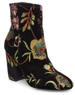 Steve Madden Steven by Lissa Sequined Booties