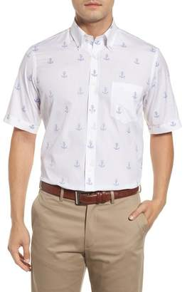 Paul & Shark Regular Fit Anchor Sport Shirt