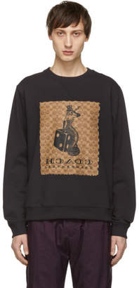 Coach 1941 Grey The Viper Room Edition Signature Sweatshirt