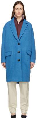 Etoile Isabel Marant Blue Gimi Coat