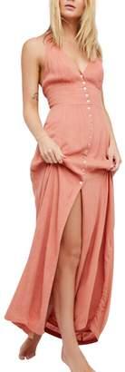 CA Mode Women Bridesmaid Wedding Maxi Dress Button up Formal Summer Beach Prom Party