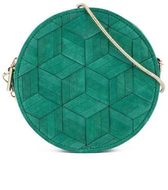 Welden geometric cut crossbody bag
