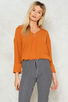 Nasty Gal Heartbreaker Dream Maker Blouse