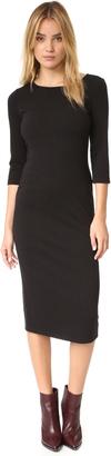 BB Dakota Radford Ottoman Midi Dress $105 thestylecure.com