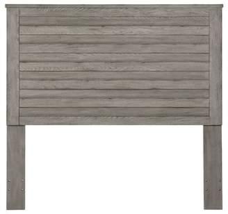 Gracie Oaks Gavin Weathered Horizontal Overlay Wood Queen Panel Headboard
