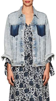 L'Agence Women's Karina Denim Jacket - Classic Sk