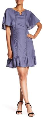 Bobeau B Collection by Cut out Detail Day Dress