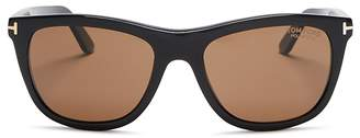 Tom Ford Andrew Polarized Square Sunglasses, 54mm