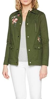 Dorothy Perkins Women's Embroidered Zip Jacket