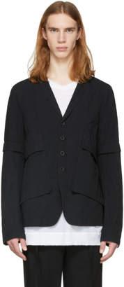 The Viridi-anne Black Removable Sleeves Jacket